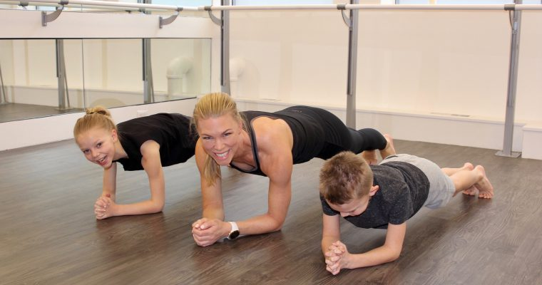 WORK OUT WITH YOUR KIDS!