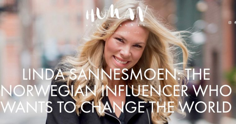 The Norwegian Influencer that wants to change the world